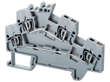 Angular Double Level Spring Clamp Terminals