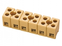 Multipole Strip Terminal Blocks