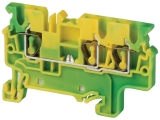 Ground / Earth Multiple Connection Spring Clamp Terminals